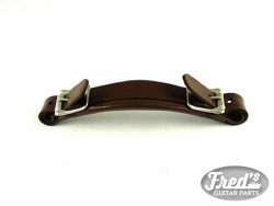 POIGNEE CUIR/ BROWN LEATHER HANDLE FOR GIBSON* STYLE CASES