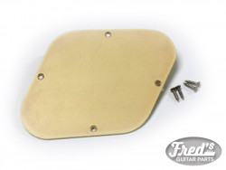 LP ELECTRONIC BACK PLATE SOLID CREAM AGED