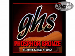 GHS ACOUSTIC PHOSPHOR BRONZE LIGHT 012-054