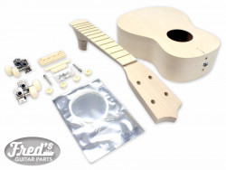 SOPRANO UKULELE KIT BASSWOOD (12F)