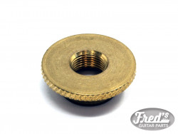 ACOUSTIC STRAP SECURE 3/8 THREAD BRASS (FOR FISHMAN/SWITCHCRAFT/ OTHER US JACKS)