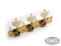 MECANIQUES GOTOH CLASSIC 1600  LYRA BOUTON IVORY GOLD 1:14