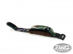 GRUVGEAR FRETWRAPS STRING MUTER- 1 PACK CAMO GREEN (SMALL)