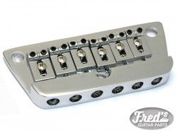 DANELECTRO GUITAR BRIDGE CHROME 6 PONTETS REGLABLES