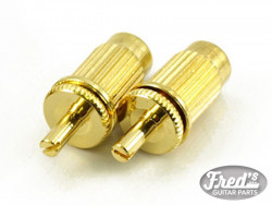 ADAPTER 8mm TO 4mm GOLD (PAIR)