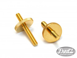 HARDWARE STUDS AND WHEELS METRIC GOLD (BRIDGES 4mm)