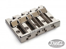 4-STRING OMEGA BASS BRIDGE CHROME