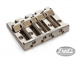 4-STRING OMEGA BASS BRIDGE NICKEL