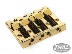4-STRING OMEGA BASS BRIDGE GOLD