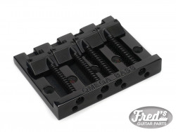 4-STRING OMEGA BASS BRIDGE BLACK