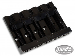 5-STRING OMEGA BASS BRIDGE BLACK