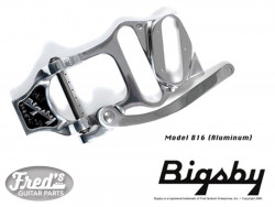 BIGSBY B16 VIBRATO TAILPIECE NICKEL WITH BRIDGE FOR TELE