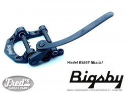 LICENSED BIGSBY B500 BLACK (FER A CHEVAL)- NO BRIDGE
