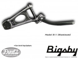 BIGSBY B11 NICKEL - NO BRIDGE