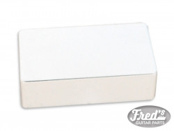 HUMBUCKING COVER WHITE CLOSED (1PC)