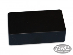 HUMBUCKING COVER BLACK CLOSED (1PC)
