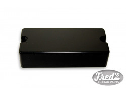 4-STR BASS EMG COVER BLACK 2 HOLES