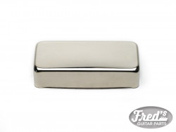 COVER POUR MINI HUMBUCKING (SILVER NICKEL) NICKEL