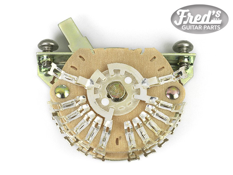 OAK® 5 WAY LEVER SUPER SWITCH FOR STRAT® DOUBLE XL