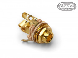 JACK STEREO 6.35 SWITCHCRAFT GOLD