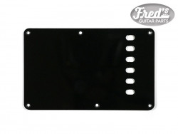 TREMOLO PLATE BLACK 1-PLY .060 E-E 56mm