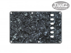 TREMOLO PLATE DARK BLACK PEARLOID 4-PLY .100 E-E 56mm
