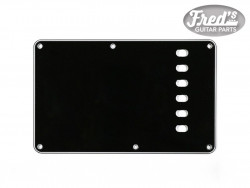 TREMOLO PLATE BLACK 3-PLY .090 E-E 56mm