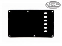 TREMOLO PLATE BLACK MATTE 1-PLY .060 E-E 56mm