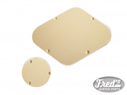 BACKPLATES FOR LESPAUL (SWITCH  et ELECTRO) CREAM