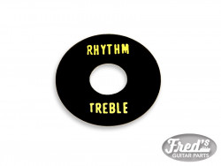 TOGGLE RING TREBLE/RYTHM BLACK