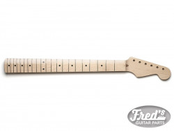 STRAT MAPLE 1PCE 21 CLEAR GLOSS FINISH