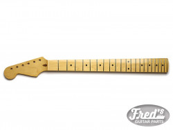 STRAT MAPLE 1PCE 12, 22 LBF FINISHED (GLOSS) LEFT HAND