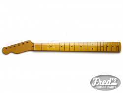 TELE MAPLE 1PCE 9.5, 21 LBF FINISHED (GLOSS) LEFT HAND