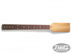 PADDLE NECK ANGLED MAHOGANY/ROSEWOOD 24-3/4 22 (NO FINISH)