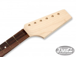 HALF PADDLE NECK MAPLE/ROSEWOOD 12 22 (NO FINISH)