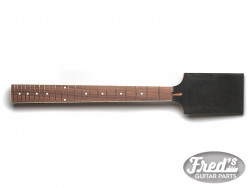 PADDLE NECK ANGLED MAHOGANY/ROS- BINDING 630mm 22 (NO FINISH)