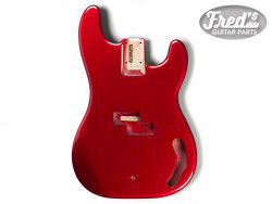 PRECISION BASS ALDER CANDY APPLE RED
