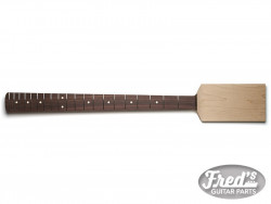 BASS PADDLE HEAD ROSEWOOD 10 20F NO FINISH