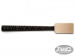 BASS PADDLE HEAD EBONY 10 20F NO FINISH