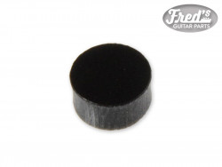 PLASTIC BLACK 1/4, 6.35mm (50PCS)