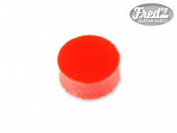PLASTIC RED 1/4, 6.35mm (50PCS)