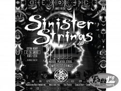 KERLY SINISTER NICKEL STRINGS LO TUNE XHVY 12-56