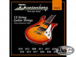 DUESENBERG 12 STRINGS ELECTRIC SET 010-046