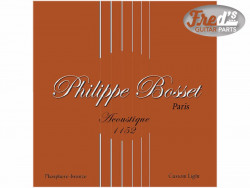 !! DISCONTINUED !! PHILIPPE BOSSET ACOUSTIQUE PHOSPHOR BRONZE CUSTOM LIGHT 11-52