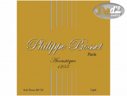 !! DISCONTINUED !! PHILIPPE BOSSET ACOUSTIQUE SOFT BRASS LIGHT 12-53