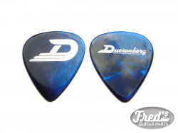 DUESENBERG MEDIATOR / PICK HEAVY BLUE PEARL  X 10