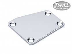 NECK PLATE CUT CHROME