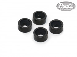 NECK BUSHING BLACK 12 X 6 mm  (4PCS)