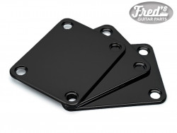 NECK PLATE STANDARD BLACK (BULK PACK 3PCS)