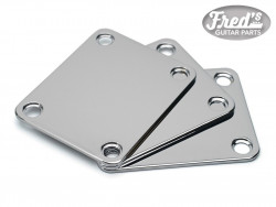 NECK PLATE STANDARD CHROME (BULK PACK 3PCS)